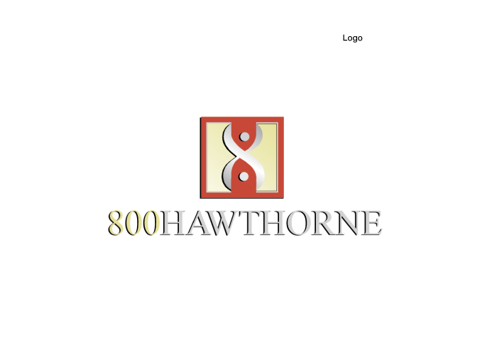 800 Hawthorne logo created by AST Studio
