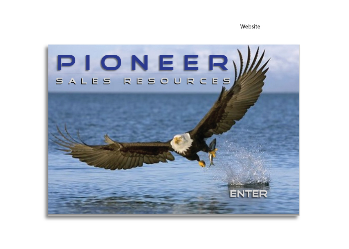Pioneer website created by AST Studio